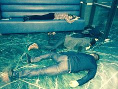 Very sleepy @amellywood, grantgust and @dpanabaker - thanks for working so hard, you guys!