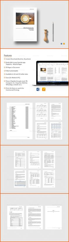Photography Business Plan Template 编排设计 Pinterest Business - business plans template