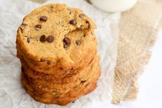 Coconut flour cookies are chewy and delicious, just like you'd expect them to be. They'll also cure that chocolate chip cookie...