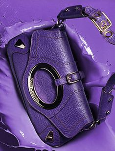 Carry a purple purse ( for fun and for lupus awareness if it suits you)