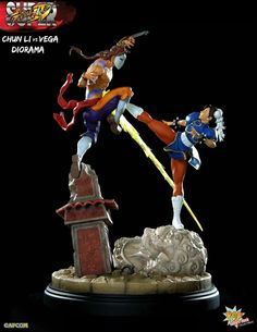Pre-Order PCS Street Fighter Chun-Li vs Vega Diorama