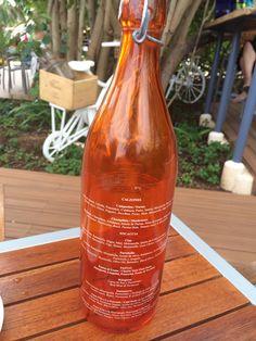 Wine bottle menu!  Cute and clever :) Live AQUA, Cancun  SunLover Travel