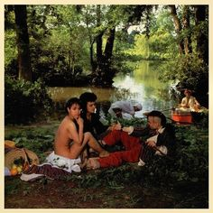 Bow Wow Wow's 'See Jungle! See Jungle! Go Join Your Gang, Yeah. Go Ape Crazy' album cover (unknow credit), after Édouard Manet's Le déjeuner sur l'herbe Famous Album Covers, Greatest Album Covers, Cool Album Covers, Music Album Covers, Bow Wow, Josef Albers, Guernica, Lps, Annabella Lwin
