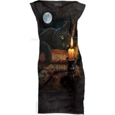 Officially licensed merch from The Mountain The Witching Hour Mint Dress available at Rockabilia Cat Dresses, Nice Dresses, Mint Dress, Dress Black, 3d T Shirts, Mini Shirt Dress, Pet Clothes, American Apparel, Cats
