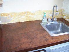 Brown Paper Bag countertop