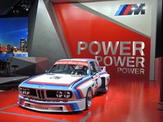 The 1975 12 Hours of Sebring winning BMW 3.0 CSL #25 made an appearance yesterday at the North American International Auto Show to kick off BMW of North America's 40th Anniversary celebrations.