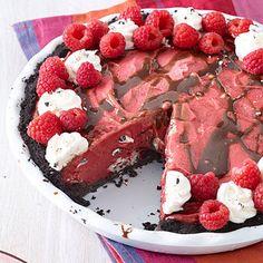 Berry Cookies-and-Cream Ice Cream Pie - MyRecipes