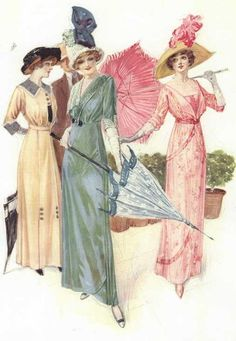 Fashions from The Delineator, 1912