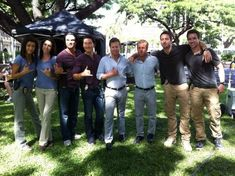 The h50 team and their doubles!  ♥