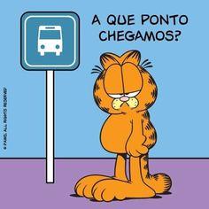 Quando você chega em algum lugar e a comida acabou de acabar. | 12 reações do Garfield que poderiam facilmente ter vindo de você