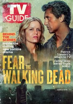 *chills* #FearTWD is on the cover of @TVGuideMagazine – pick up your copy this Thursday.