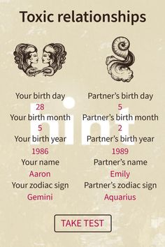Change your life with just a few clicks by knowing your future. Zodiac Signs Gemini, Zodiac Signs Chart, Gemini And Aquarius, Compatible Zodiac Signs, Relationship Advice, Toxic Relationships, Wiccan Spell Book, The Secret Book, Me Time
