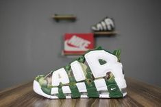94ee745a6a107 Best selling Nike More Uptempo Camouflage green white men's/women's running shoes  921948-313