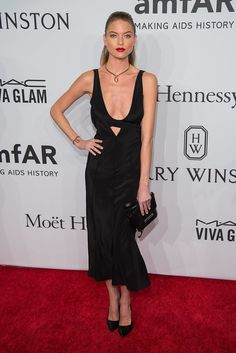 Your Favorite Models and It Girls Wore the Sexiest Dresses to the amfAR Gala