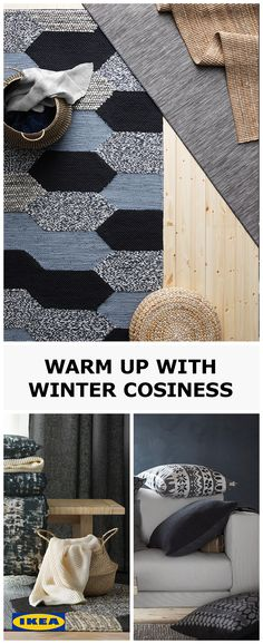 With winter just around the corner, it's time to add some warmth to your home with cosy throws and snuggly rugs. Browse our selection via the following link.