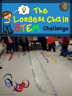 Freebie: STEAM Challenge: Creating the Longest Chain  This is such a fun STEM project that I found on TpT.  My class LOVED it!