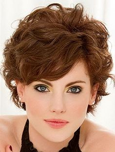 Most Demanding Short Curly Hairstyles 2016 for Women