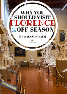 Empty galleries in museums are just one reason to visit Florence in the… Visit Florence, Florence Italy, Italy Travel Tips, Rome Travel, Italy In November, February, Best Places In Italy, Driving In Italy, Italy Tourism