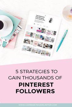 How To Gain Pinterest Followers | Pinterest Branding | Pinterest for Bloggers | Increase Pinterest Following