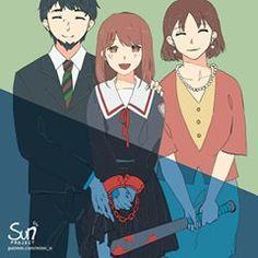 Sad Anime, Kawaii Anime, Anime Art, Dark Art Illustrations, Illustration Art, Comic Art, Memes Arte, Sun Projects, Anime Triste