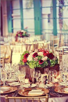 Gay flower banquet