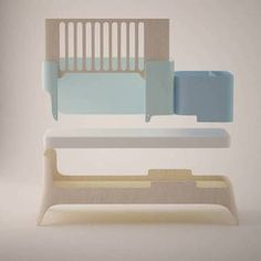 This furniture grows along with the child meaning that it can be transformed according to the needs of the child occupying the minimum space... http://www.arq4design.com/tododesign/multifunctional-furniture-proposal-by-semina-vagiakou/