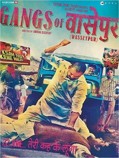 """GANGS OF WASSEYPUR  a must watch for those who looks for a MATURE & SENSIBLE & GOOD CINEMA & for those who wanna laugh & HOOT too in a MULTIPLEX...    this movie provides a lot to the audiences.. BOLD STREET SLANGS like """"tu hmri kookh se paida hua hai k ADHAI rupye wali *ANDI ki kokh se"""" & a lot lot more like this... it's NOT VULGAR but TRUE TO THE HEART & LEFT AN IMPACT...    MANOJ, RICHA & REEMA... the trio is JUST AWESOME"""