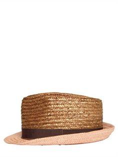 ETRO - STRAW PANAMA HAT Pork Pie Hat a5681fbfaff2
