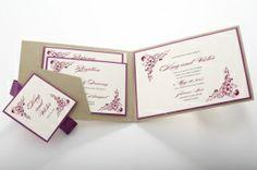 craft paper Lace Invitations, Garden Wedding Invitations, Place Cards, Paper Crafts, Place Card Holders, Wedding Stuff, Tissue Paper Crafts, Paper Craft Work, Papercraft