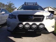Installed SSD Performance Rally Light Bar + Hella 500 Black Magics Installed - Club Crosstrek   Subaru XV Crosstrek Forums