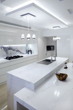 The 21 Best Ideas for Modern Kitchen Design - Best Home Ideas and Inspiration - . - The 21 Best Ideas for Modern Kitchen Design – Best Home Ideas and Inspiration – white kitchen d - Kitchen Room Design, Small Space Kitchen, Luxury Kitchen Design, Luxury Kitchens, Home Decor Kitchen, Interior Design Kitchen, Kitchen Ideas, Kitchen Designs, Kitchen Inspiration