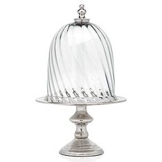 Deliciously serve savory sweets on  Valentine's Day in Z Gallerie's exclusive Kensington Cake Stand. $49.95
