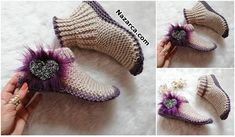 Fashion and Lifestyle Winter Socks, Warm Socks, Cool Socks, Winter Hats, Knitted Gloves, Fingerless Gloves, Hand Knitting, Knitting Patterns, Knit Boots