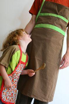 Maak een schort voor ouder en kind | Kiind Magazine