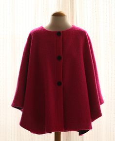 ...red cape jacket...