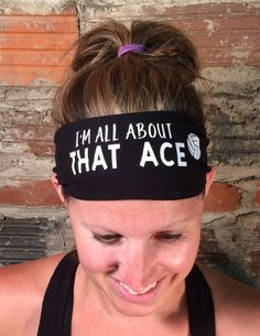I'm All About That Ace Volleyball Janiband