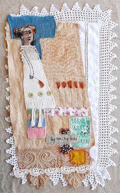 Textile artwork Mrs Bertimus