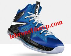 Nike LeBron X PS Elite Royal Blue Metallic Silver Photo Blue Photo Blue e74bee1ff