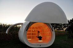 Blob VB3, 2009, by David Driesen, Tom Verschueren, & Thomas Denturck, of dmvA Architecture, Belgium.  This is pretty nifty.