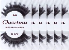 6packs Eyelashes - 40 (Same factory and production line as Red Cherry) *** Be sure to check out this awesome product.