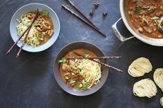 Fragrant, comforting and served up with some noodles - it's a winner of a recipe! Massaman Curry Paste, Beef Rump, Curry Ingredients, Paella Pan, Chilli Paste, Beef Curry, Asian Recipes, Ethnic Recipes, Tasty