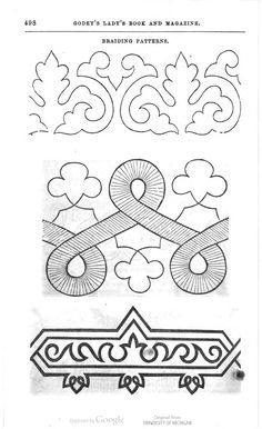 soutache embroidery pattern | soutache embroidery pattern | curlylocks' cushion