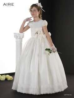 2015-cheap-flower-girls-dresses-ivory-satin