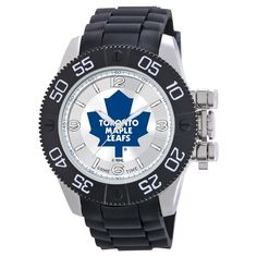 Men's NHL Game Time Toronto Maple Leafs Beast Series Watch - Black
