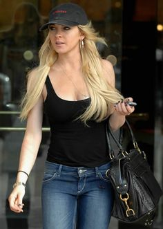 Lindsay Lohan Style: Rebecca Minkoff Morning After Bag
