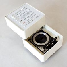Wega 3300 Hi-Fi System by Verner Panton. Try this Califone Record player instead! Califone Deluxe Classroom Music and Dance Turntable Vinyl Media Record Player, Phonograph. Radios, Vintage Design, Retro Design, Audiophile, To Do App, Charles Ray Eames, Hi Fi System, Dieter Rams, Vintage Records