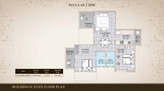 2 BHK Floor Plan Properties in Pune - Westernhills,