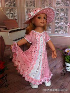 Каждой шляпке - по платью / Одежда и обувь для кукол - своими руками и не только / Бэйбики. Куклы фото. Одежда для кукол