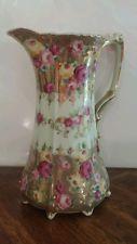 Royal kinran rose pattern pitcher