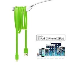 Letouch L'amour Cable de datos de USB , Cable plano(en estilo de fideo) ,Cable…